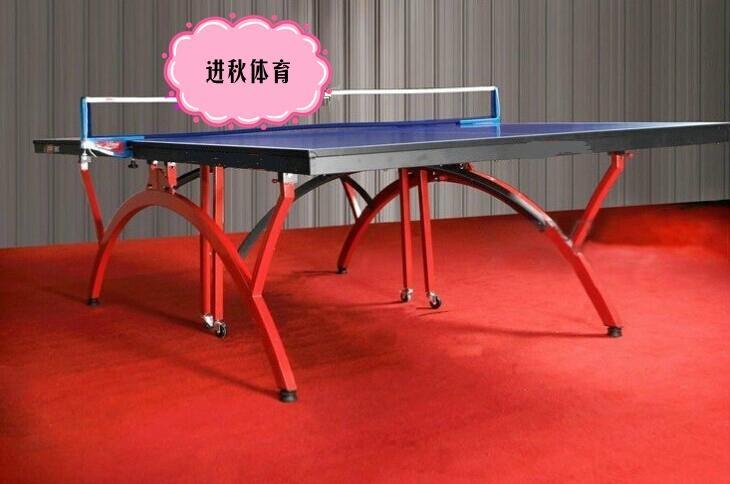室内乒乓球台可折叠移动 4