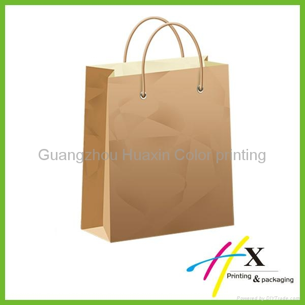 customized kraft brown paper bag 3