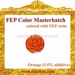 FEP Orange Color Masterbatch