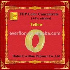 FEP Yellow Color Masterbatch