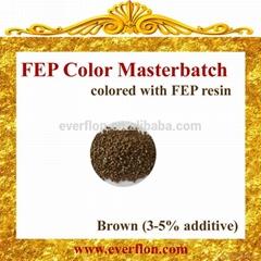 FEP Brown Color Masterbatch