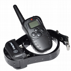 US Hot Sale 300M Remote dog Training Collar, Waterproof and Rechargeable