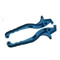 cnc anodizing colourful motorcycle brake lever 1