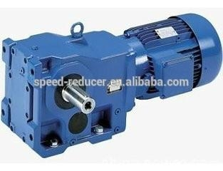 electric spiral bevel gear motor with solid vertrical shaft