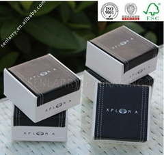New style innovative portable custom jewelry packaging box wholesale certificate