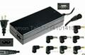 高质量 90W 多功能笔记本  适配器 自动调压 1