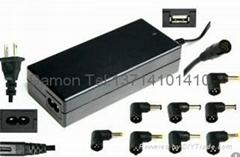 高質量 90W 多功能筆記本萬能適配器 自動調壓