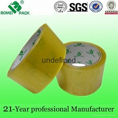 Strong glue bopp printed packing tape