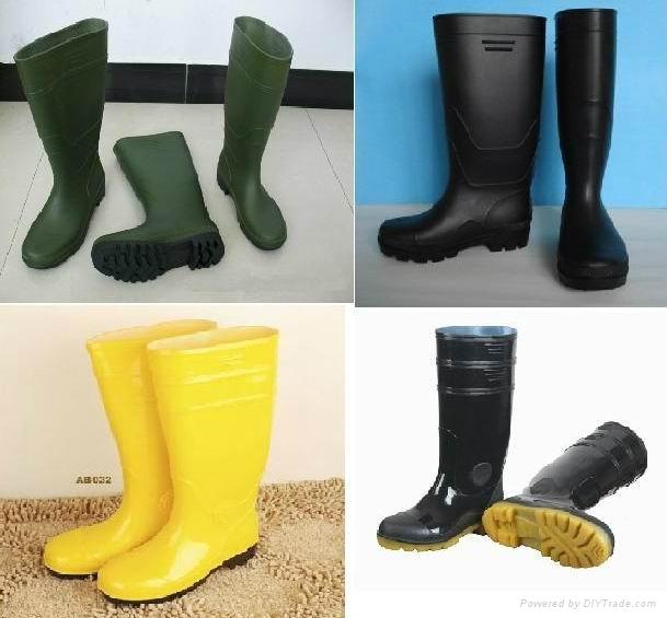 Male PVC Rain Boots 1