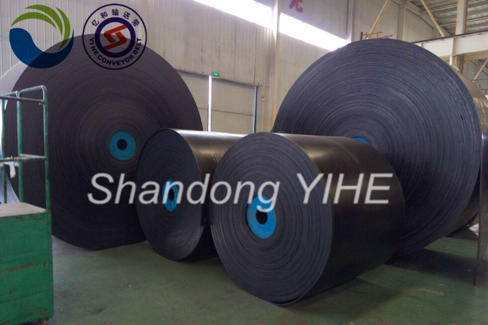 Anti-tearing steel cord belts 1