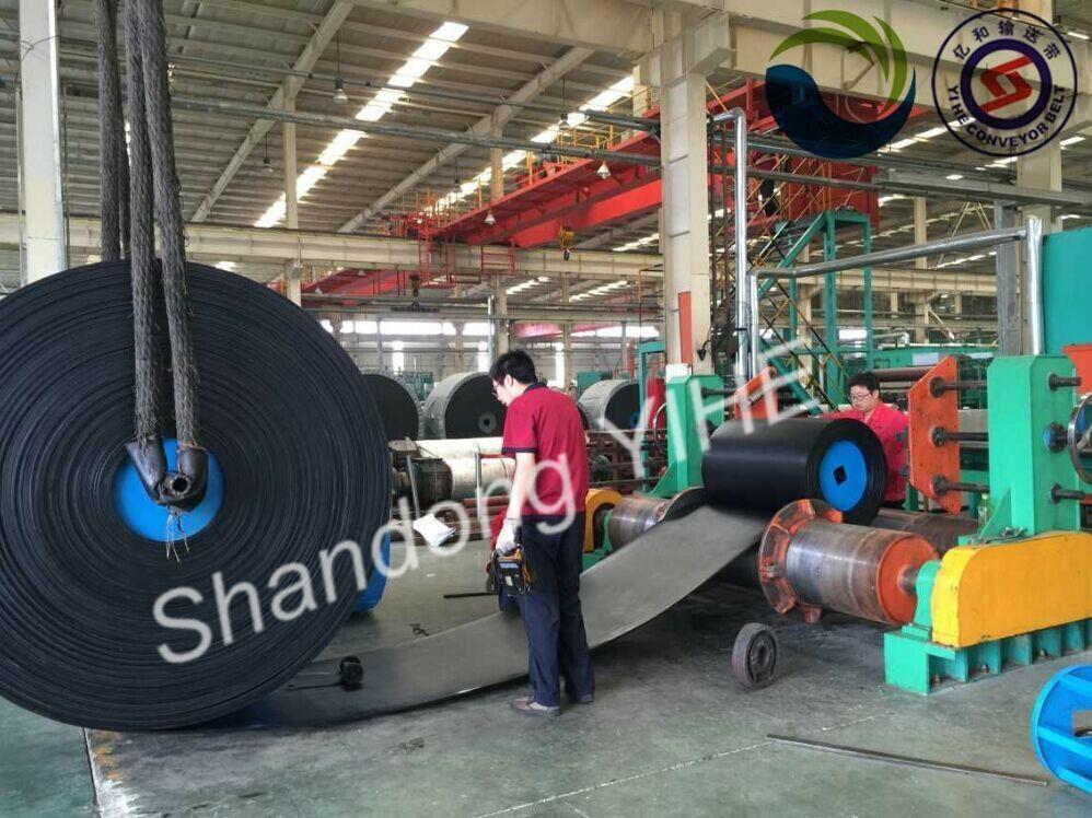 PVC Solid Woven Conveyor belt 5