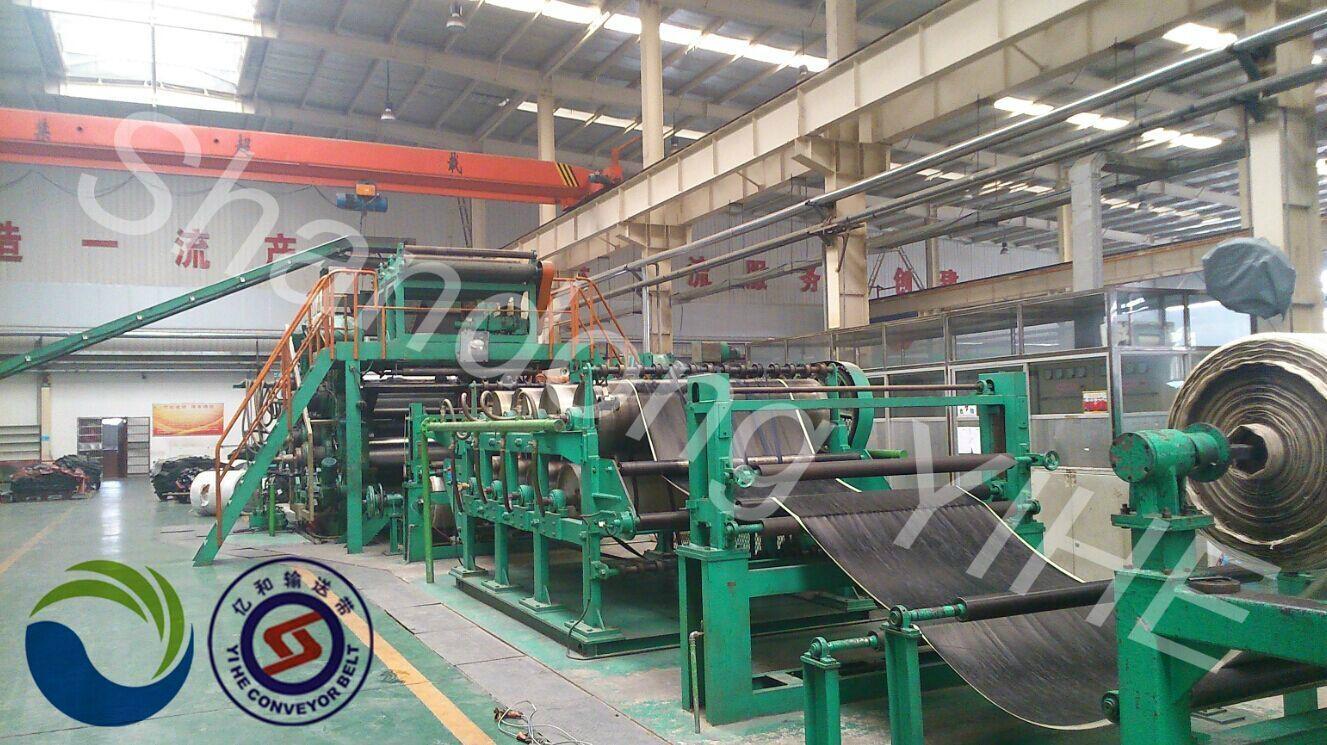 PVG Solid Woven Conveyor belt 4