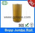 Best quality custom size opp jumbo roll