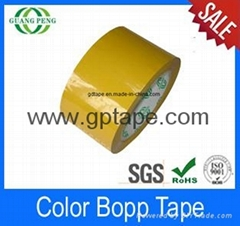 Wholesale bopp packed adhesive tape for packaging