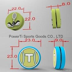 Custom design tennis racket dampeners shock absorbers