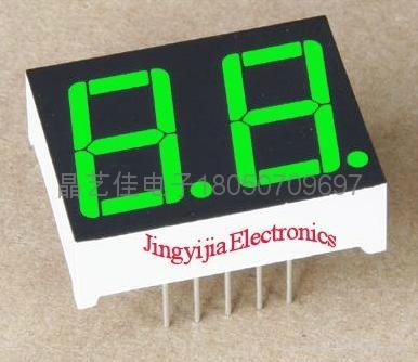 0.36英吋兩位翠綠色數碼管 1