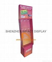 Impact POP Cardboard Hooks Display Stand