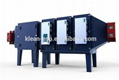 electrostatic industry air cleaner for coating line