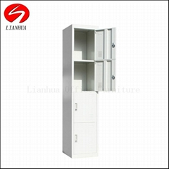 in luoyang lianhua china with lock 2 tier steel locker cabinet for sale factory
