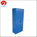 Combination utility metal office file and wardrobe cabinet 2