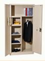 Bedroom locker   Combined locker glass door filing cabinet and clothing locker 1