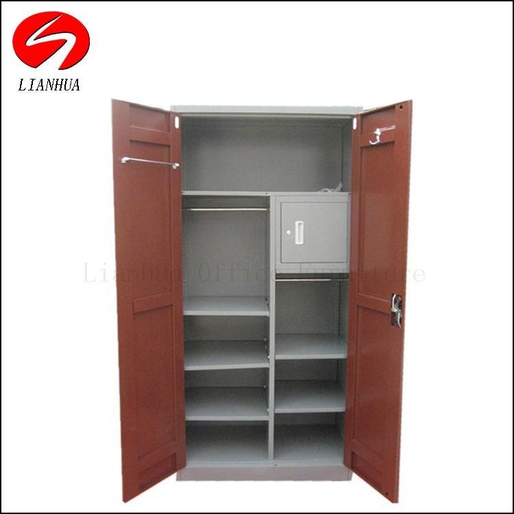 Bedroom locker   Combined locker glass door filing cabinet and clothing locker 2