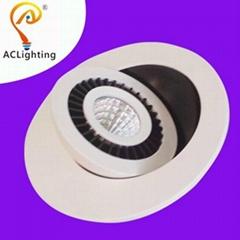 360° angele adjust 5w COB LED Downlight