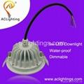 fireproof waterproof LED downlight