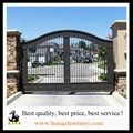 Antique and Customized wrought iron gate