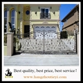 Antique and high quality swing iron gate design 1