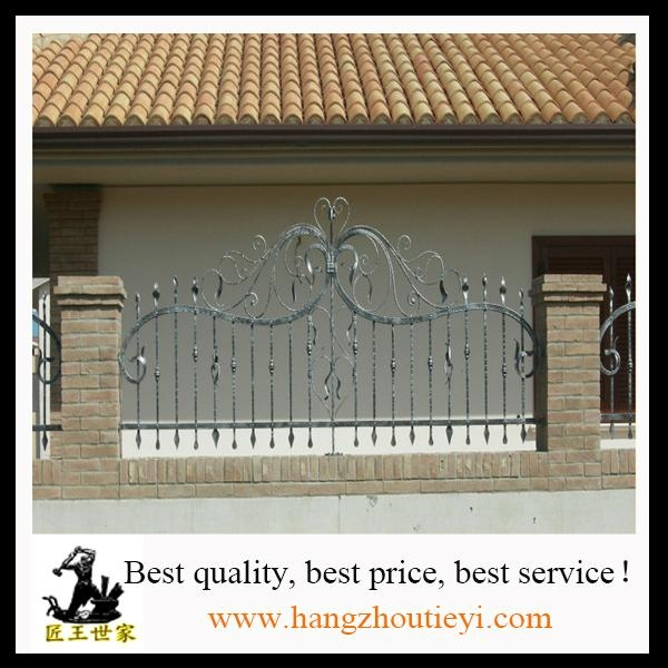 Antique and high quality swing iron gate design 3