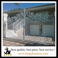 Antique and high quality swing iron gate design 4