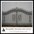 Black wrought iron front security main