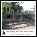 High quality hand hammered wrought iron