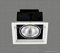 high power ceiling corridor COB led grille down light grid light 10W 15W 20W 30W 1
