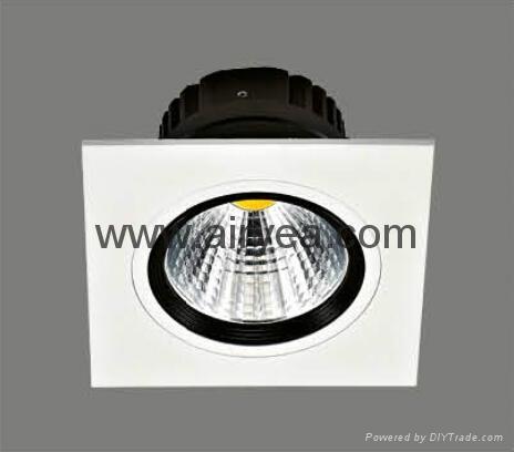 High Quality 10W LED grille light COB 100-240V grid light 1