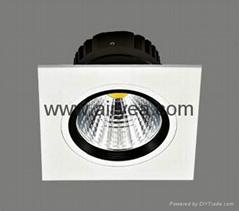 High Quality 10W LED grille light COB 100-240V grid light