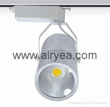 New product led track lighting 30W 3 phase EU standard rail light aluminium hous 1