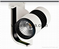 Latest Design High Power COB 50W LED track light Track Lighting rail light alumi