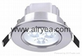 High Power 3W-18W Aluminum led downlight