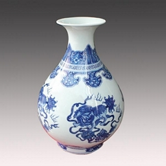chinese style blue and w