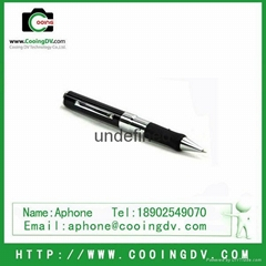 4GB pen spy camera