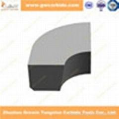 Tungsten carbide brazed tips
