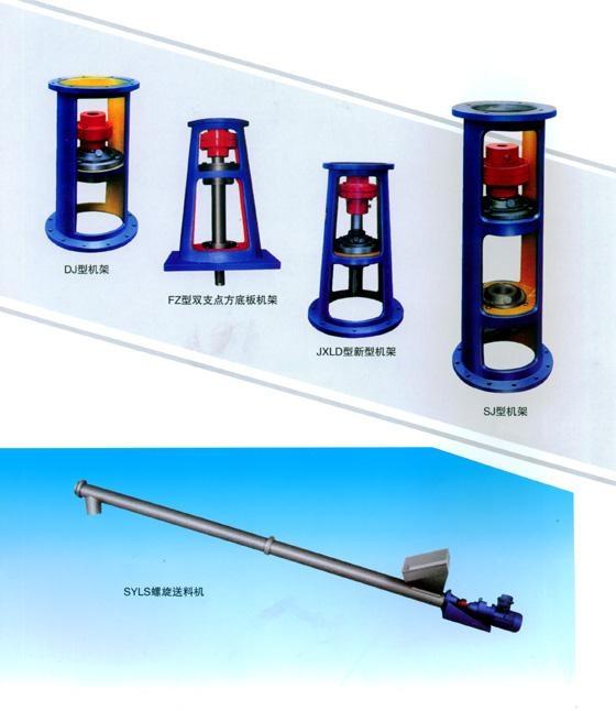 立式摆线针轮减速机带机架支架型 3