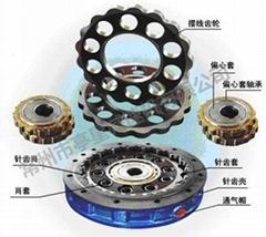 针齿壳、摆线轮、偏心轴承、偏心套等系列配件图