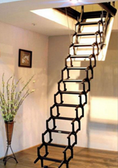 Metal ladder powder coating