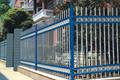 Fence electrostatic powder spraying
