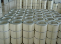 Dust filter polyester  powder coating