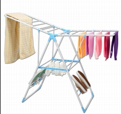 Folding drying rack electrostatic powder