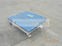 Warehouse cages with pvc protection panels